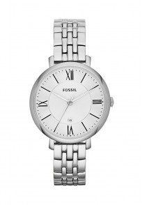 Fossil Jacqueline Round Dial Silver Analog Watch For Women