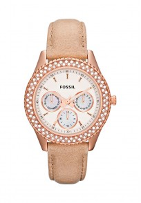 Fossil Round Dial Sand Analog Watch For Women
