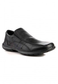 Red Tape Men Black Leather Formal Shoes - RTS7301