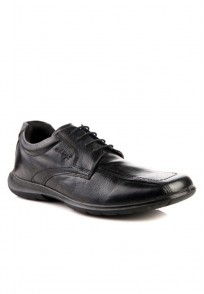 Red Tape Men Black Leather Formal Shoes - RTS7311