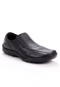 Red Tape Men Black Leather Formal Shoes - RTS7321