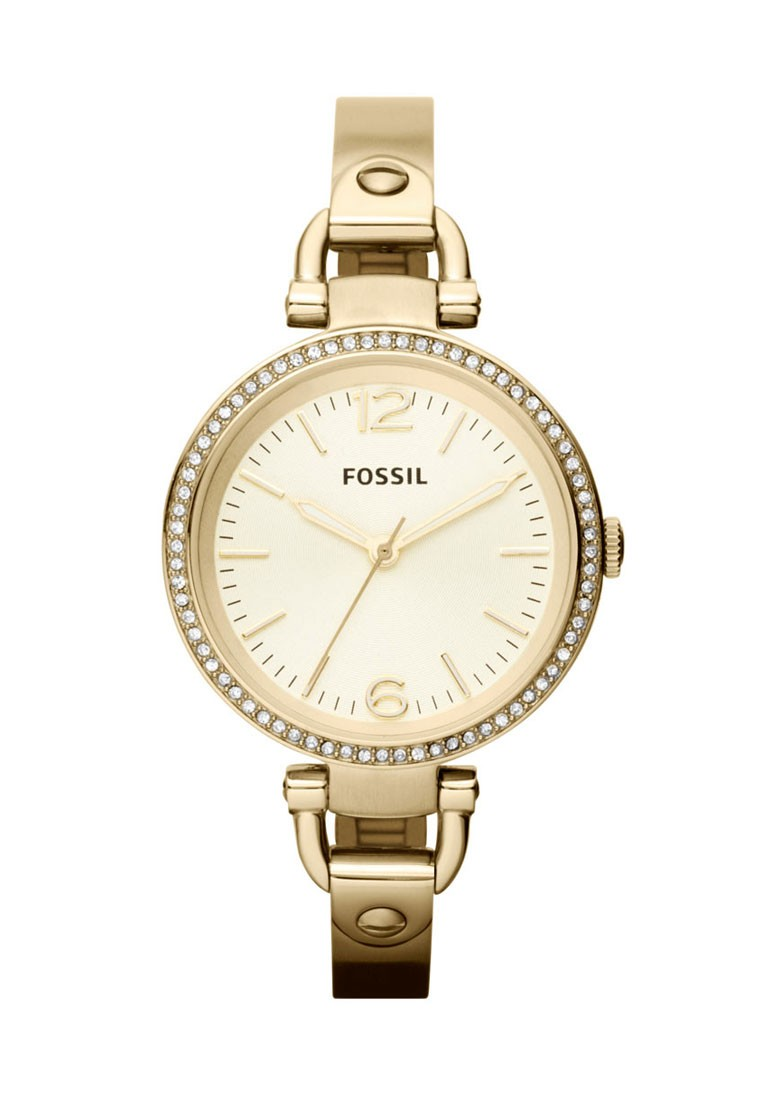 bc555b8aa639 Fossil Georgia Gold Round Dial Analog Watch For Women - Footwear ...