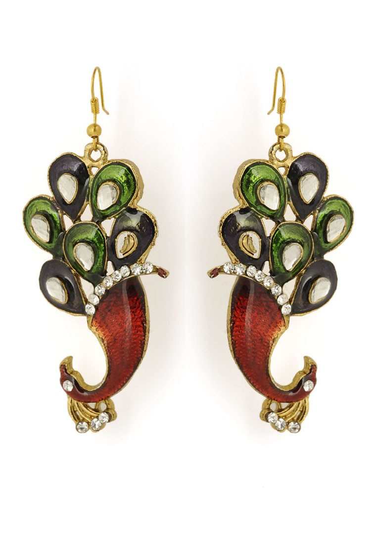 pari-peacock-shaped-earring