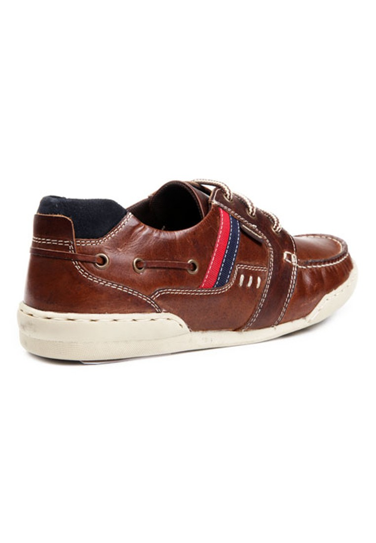 Red Tape Men Brown Leather Casual Shoes - RTS7032 ...