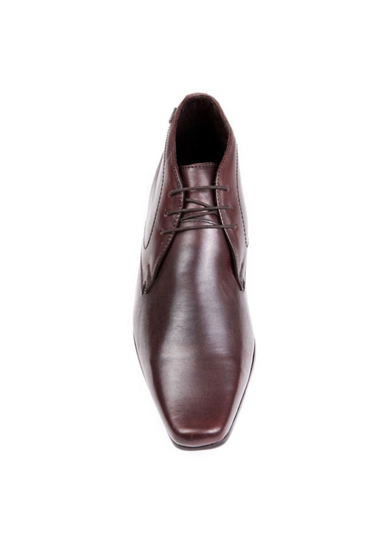 Red Tape Men Brown Leather Formal Shoes - RTS6692