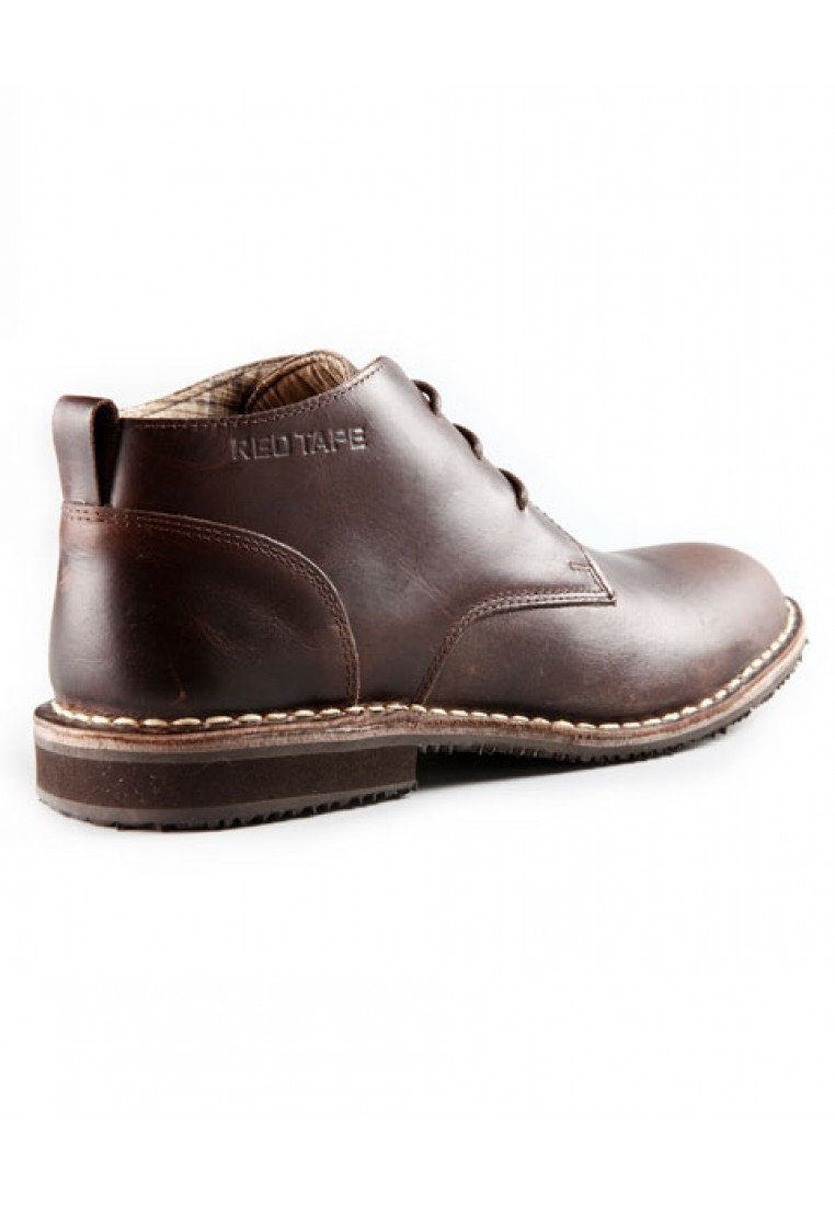 Red-Tape-Men-Brown-Fomal-Casual-Leather
