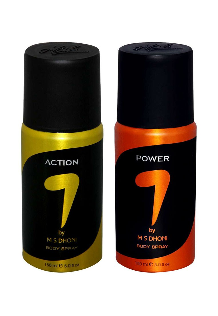 Ms Dhoni Action Power Pack Of 2 Deodorants For Men 150 Ml Axe Deodorant Bodyspray Apollo 150ml Twin